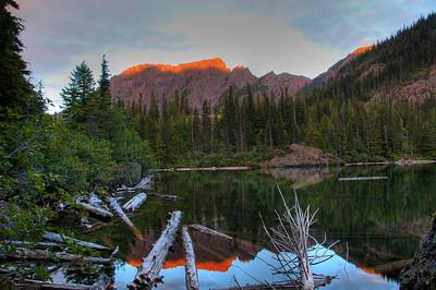 Lake Angeles Backcountry Camping