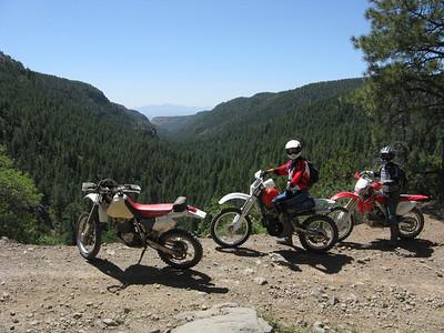 Jemez Mtns. - Bland-Del Norte-Cochiti Mesa-Dome Rd. Trailride  6-8-08