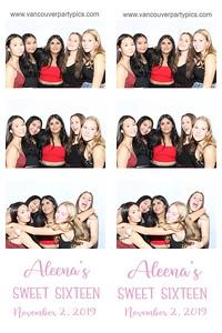 Aleena's Sweet 16