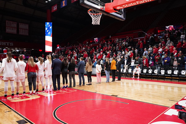 Wisconsin Badgers at Rutgers Scarlet Knights 2/25/2019