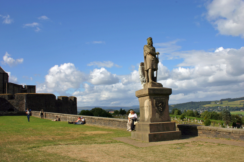 Wallace statue at Stirling Castle