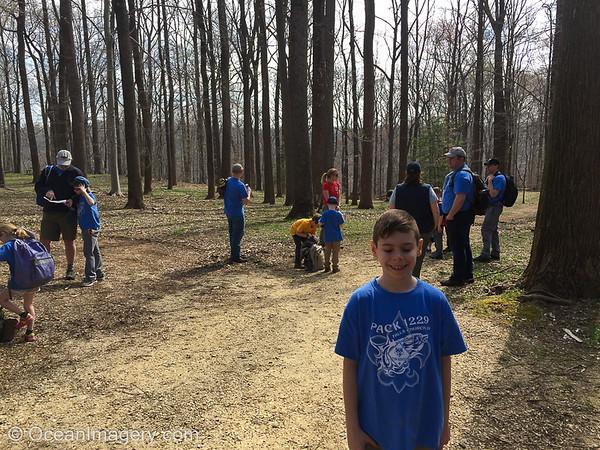 20190407 McLean, VA - Pack 1229 Spring Hike