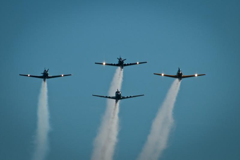 Annual Memorial Day tribute flyover.