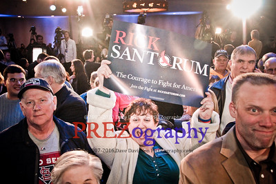 Rick Santorum Caucus Night