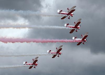 Team Guinot wingwalkers, 2008