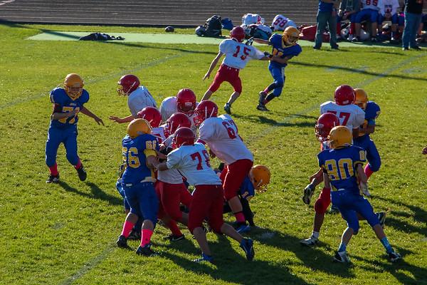 2013 AMS Football vs West Noble