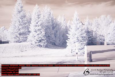 Fuji X-M1 Full spectrum with FUJINON XF56mmF1.2 R