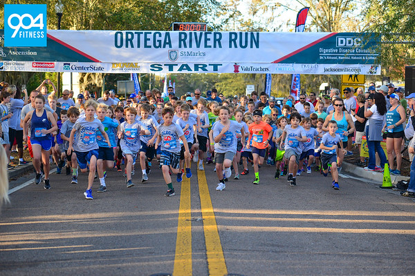 Ortega Kids One Mile Fun Run 2018