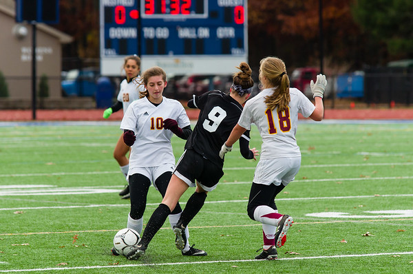 Lenox girls soccer vs. Granby in Western Mass. D-IV final - 111018