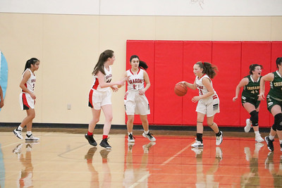 US Girls JV Basketball 1-31-20