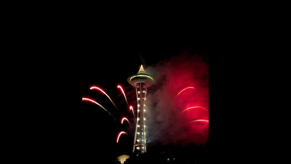 Seattle Center New Year's 2011