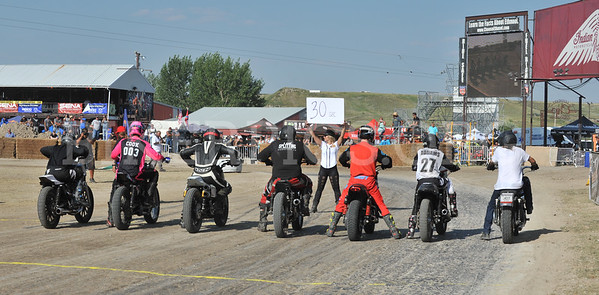 HOLLIGAN RACES AT THE CHIP, 2018 STURGIS