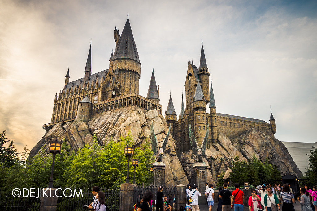 Universal Studios Japan - Harry Potter and the Forbidden Journey / Hogwarts Castle Exterior, Sunset