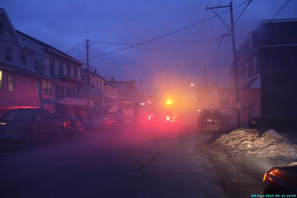 Hazleton Vehicle Fire 3/15/15