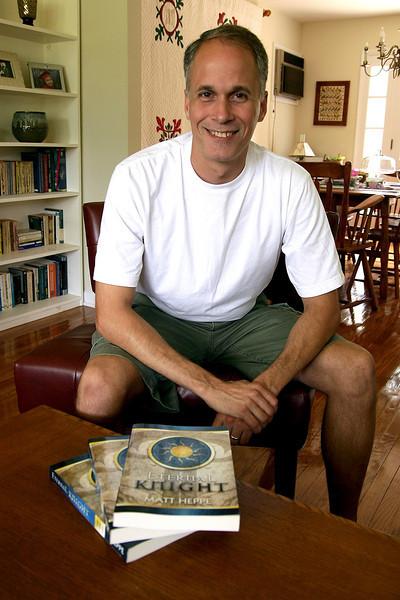 Matt Heppe: teacher and fiction author