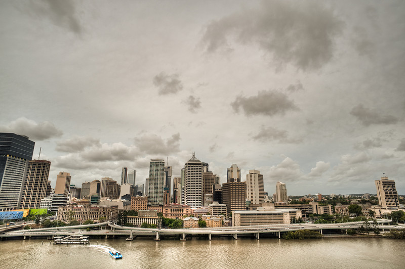 Brisbane from 60 m