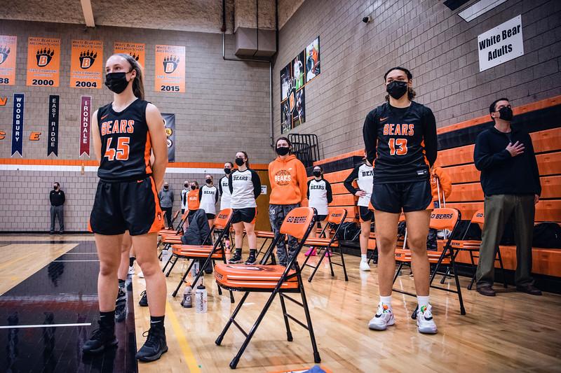 WBL Girls Varsity Basketball -V- Cretin 2021