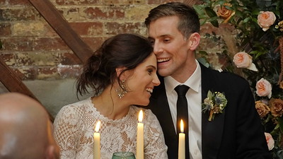 Lyndsay and Ross get married