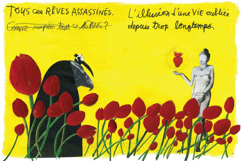 11.LINO La Chambre de l'oubli Roman graphique, Les 400 coups, 2008,