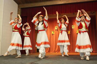 Folk Dance Troupe 2009-10