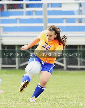 2012 Girls Soccer Sectional Game .. Griff vs Highland