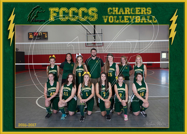 FCCCS Chargers Volleyball 2016