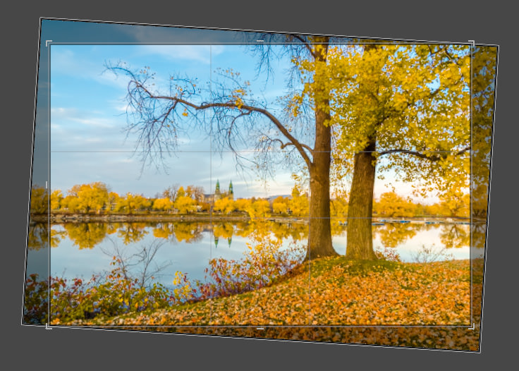 Lightroom Straighten Tool - Crop Boundary Rotation