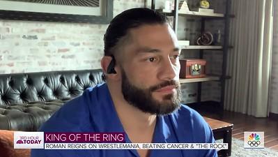 Roman Reigns - Srcreencaps / Interview - Today News 3rd Hour