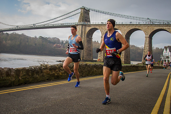 Anglesey Half Marathon - Menai Bridge Background