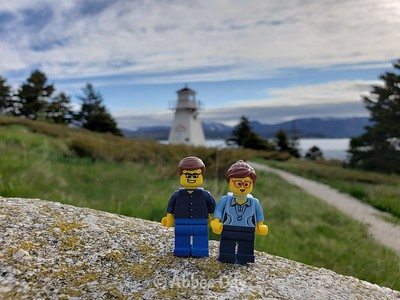 Lego selfie at Woody Point