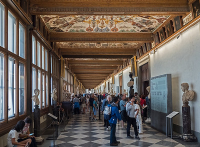 Italy - Uffizi and Accademia Galleries in Florence
