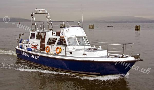 MOD Police Boats