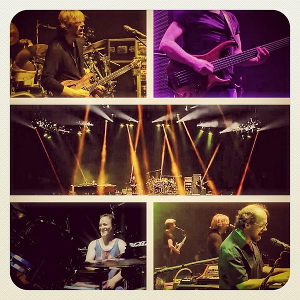 Phish second set collage #AC