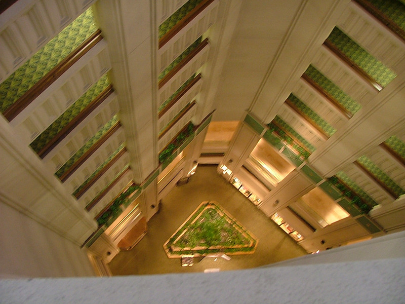 We were on the 14th floor