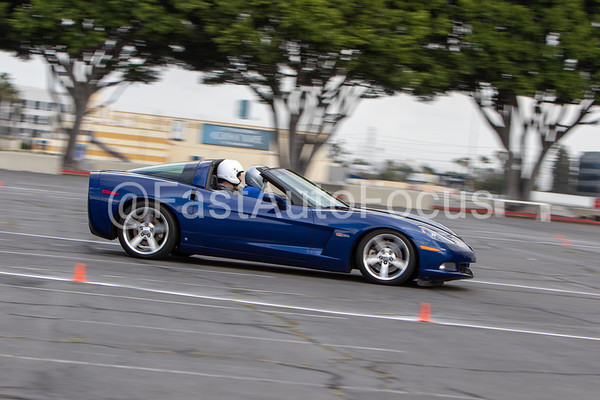 Custom Gallery - Blue Chevy Corvette