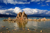 Tufa towers in Mono Lake