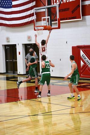Benton @ Highland boys Basketball 2-12-21