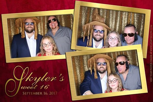 Skyler's Sweet 16