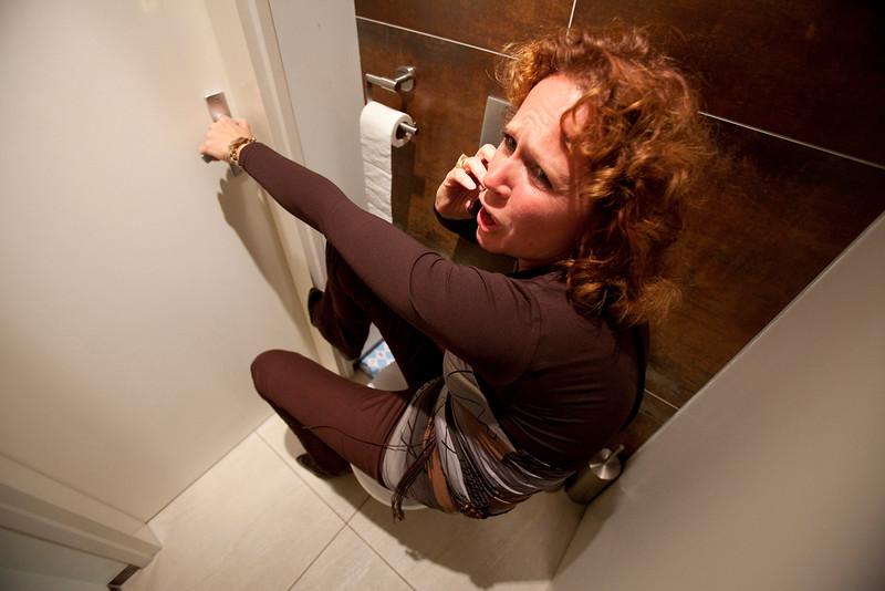 geensceneerde foto huiselijk geweld, 15 setember 2009, foto: Katrien Mulder