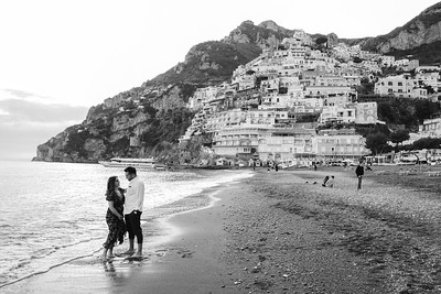 Norma + German Engagement in Positano