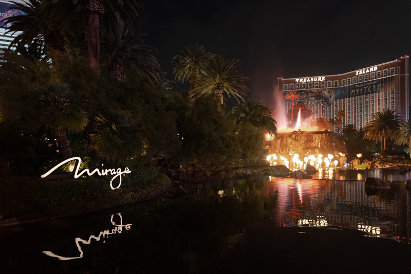 Volcano at Mirage Resort and Casino