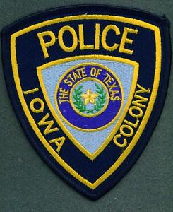 Iowa Colony Police