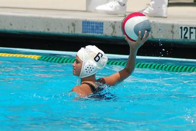 S & R Sport Junior Olympics 2009 - Platinum Division 12U Girls - Los Alamitos Water Polo Club vs San Diego Shores 7/31/09. Final score 7 to 3. Los Al vs SDSWPC. Photos by Allen Lorentzen.