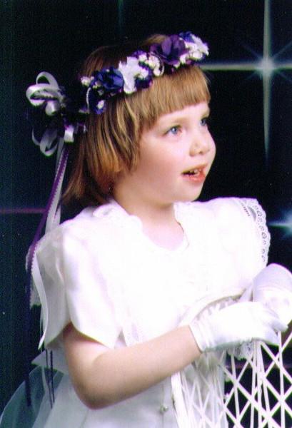 Alina, Flower Girl, 1996, .jpg