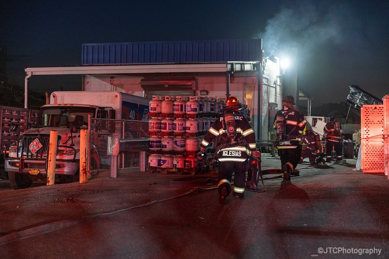 Brentwood Working Fire 03-08-2021