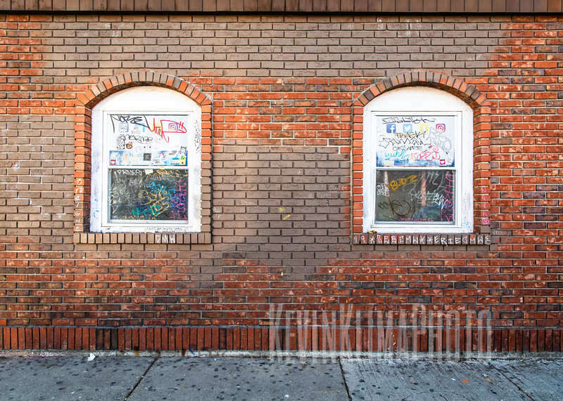 Logan Square Graffiti Windows