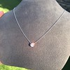 0.67ct Transitional Cut Diamond Pendant Clover Setting 2