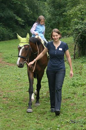 Pferde-/Ponyreiten Schryberhof 01.08.2011