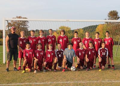 GMHS Freshman Soccer 2013
