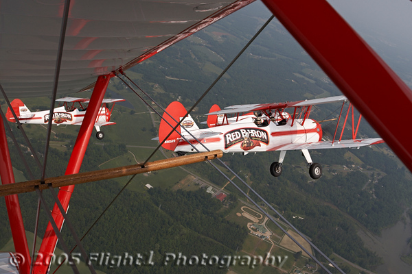Red Baron Pizza Squadron Media Ride
